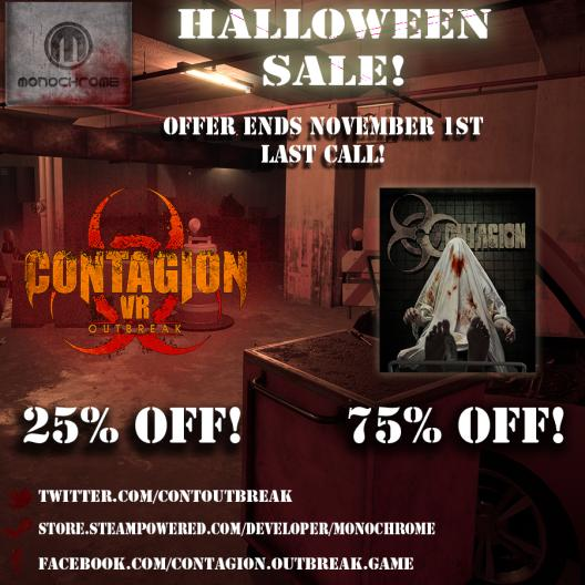 LAST CALL for Halloween Sale!